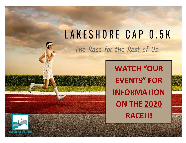 """2020 LAKESHORE CAP 0.5K """"RACE"""""""
