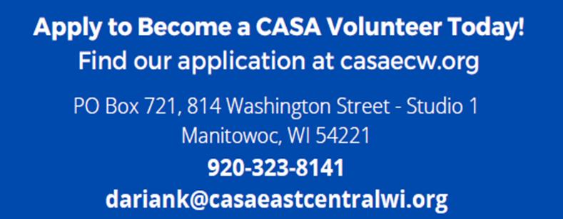 East Central WI CASA Volunteer Training
