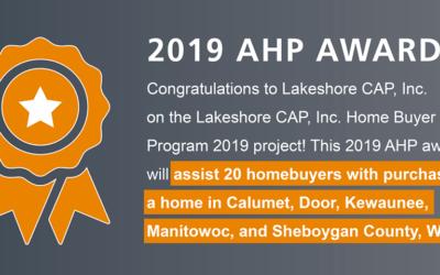 LCAP Awarded 2019 AHP Award