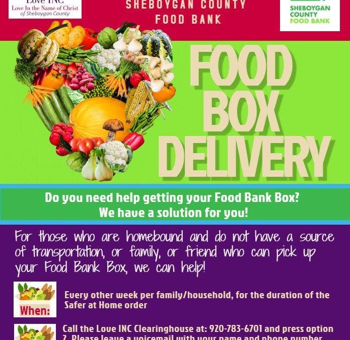 Love Inc. Food Box Delivery