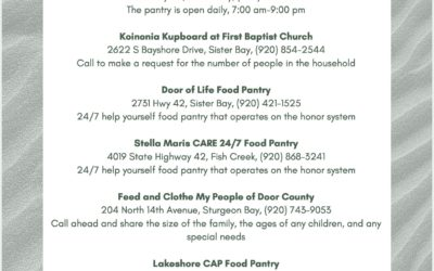 Lakeshore CAP & Door Co Food Pantries