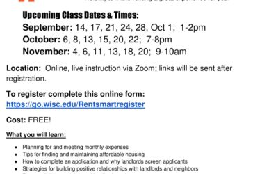 Rent Smart Zoom Course!