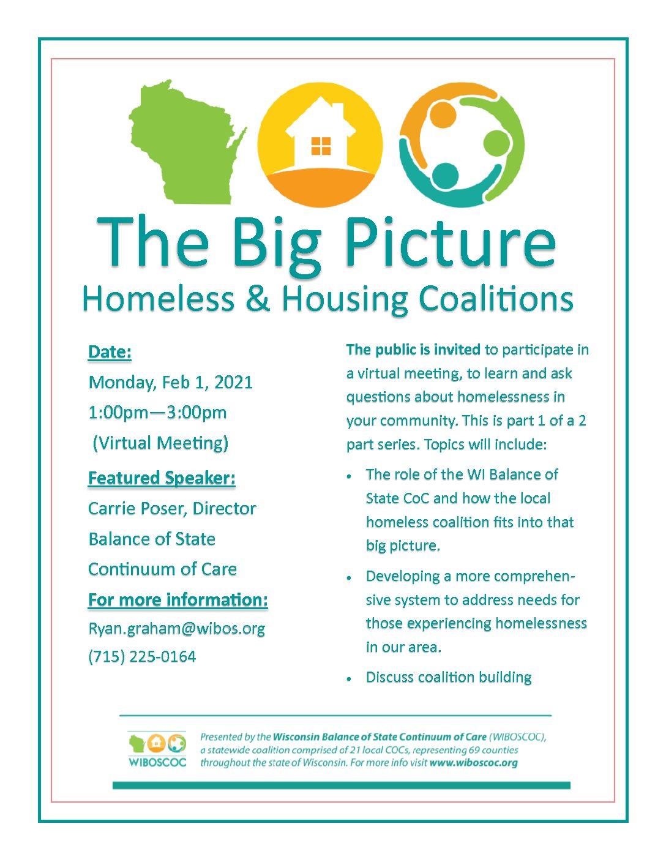 Homeless/Housing Webinar-Session 1