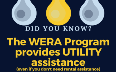 WERA Provides Help with Utilities