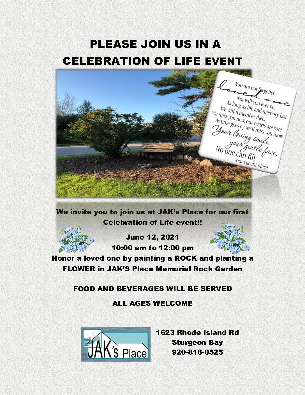 JAK's Place Memorial Ceremony
